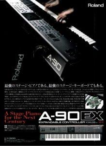 Roland A-90EX(advertisement)