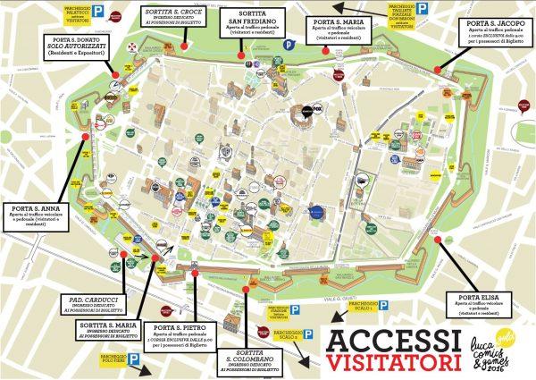 進撃の巨人展 WALL ITALIA map