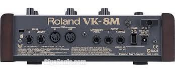Roland VK-8M rear
