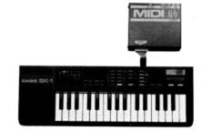 バイテック MIDI之助(CASIO SK-1)