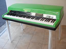 Vintage Vibe Tine Piano Lime Green