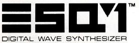 ENSONIQ ESQ-1 logo