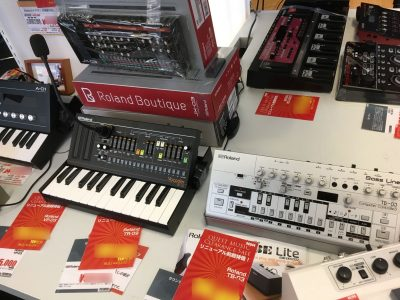 Roland Boutique/TB-03 etc.(Questmusic ZAZACity)