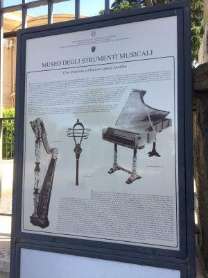 ローマ楽器博物館【Museo Nazionale degli Strumenti Musicali】