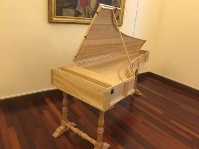 クリストフォリのピアノ@ローマ楽器博物館