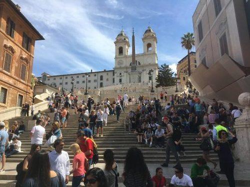 ローマ スペイン広場