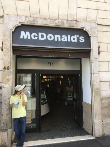 マクドナルド ローマ・スペイン広場店