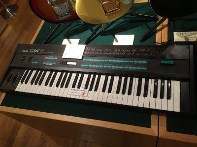 YAMAHA DX7(浜松市楽器博物館)