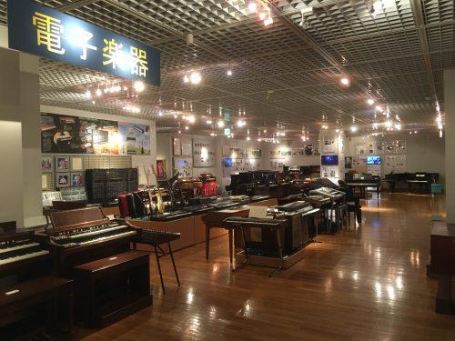 浜松市楽器博物館_電子楽器コーナー全景