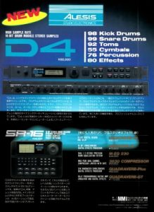 ALESIS D4(advertisement)