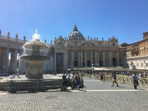 スペイン広場~サン・ピエトロ大聖堂(ヴァチカン)