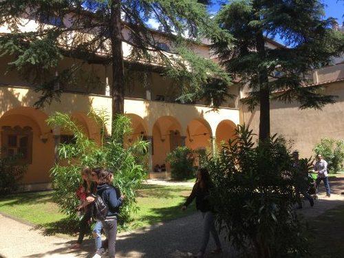 オブラーテ図書館(イタリア・フィレンツェ)