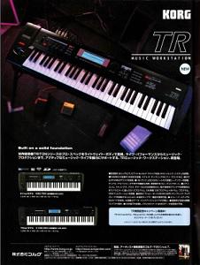 KORG TR61(advertisement)