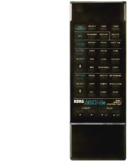 KORG DRM-1(remote controller)