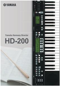 YAMAHA HD-200(catalog)