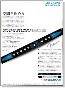 ZOOM STUDIO 1202(advertisement)