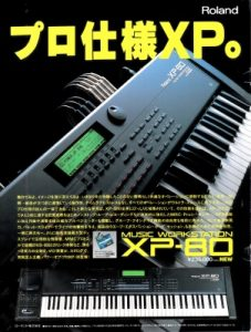 Roland XP-80(advertisement)