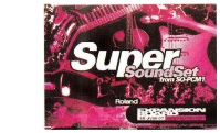 "Roland SR-JV80-07 ""Super Sound Set"""